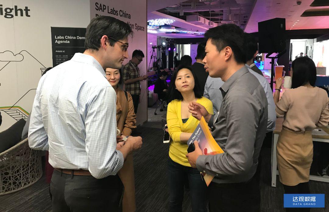 达观数据亮相SAP人工智能创新伙伴大会,与全球领先企业达成友好合作